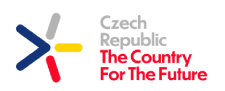 Czech Republic - The Country For The Future (logo)